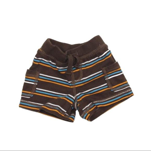 🔆3/$15 Gymboree Striped Shorts, 0-3 Months